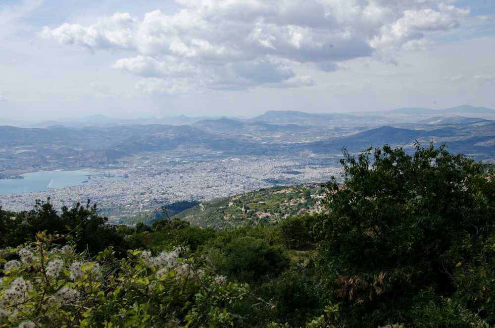 view of city of volos