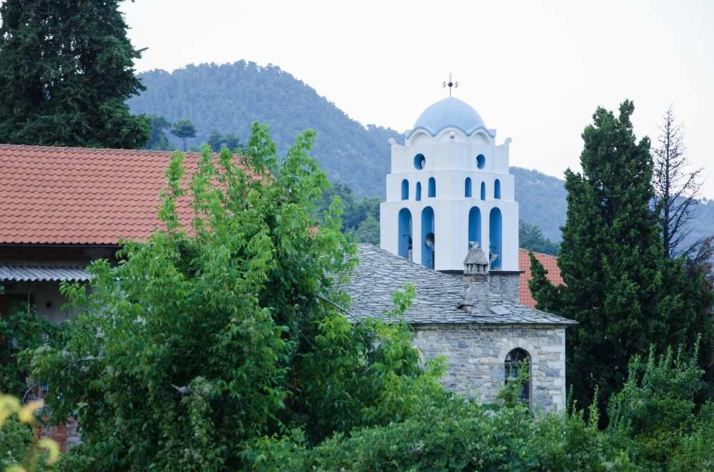 holy church of the assumption of the virgin, potamia, thassos island