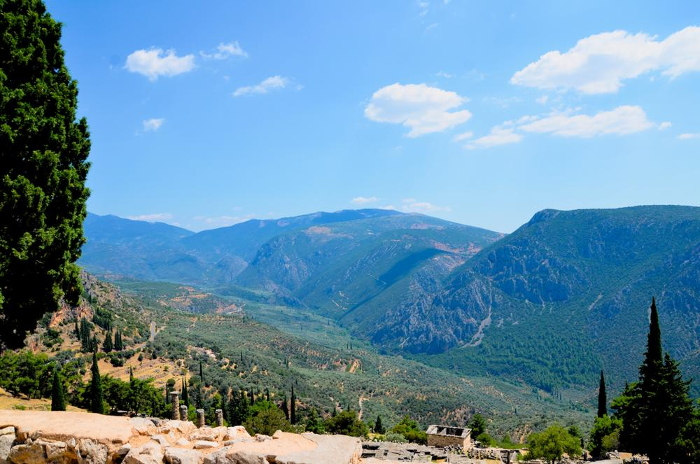 stunning scenic view about Temple Of Apollo